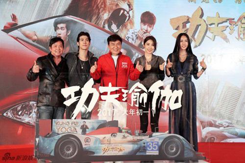 Ê kíp phim Thành Long phá nát siêu xe của hoàng tử Dubai - 1