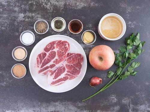 Cách làm món thịt lợn nướng táo thơm phức, lạ miệng - 2