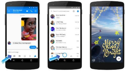 Facebook Messenger cập nhật hiệu ứng chụp ảnh mới - 2
