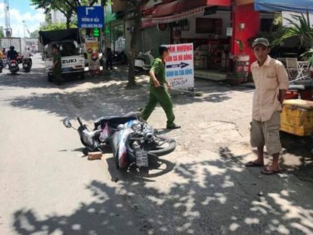 Thanh niên dùng gạch đập chết người sau va chạm giao thông