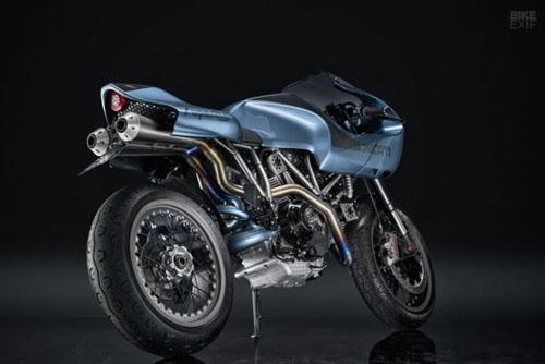 """Mê mẩn trước DucatiMH900e Superlite màu sắc """"dị biệt"""" - 5"""