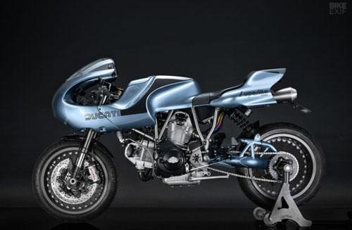 """Mê mẩn trước DucatiMH900e Superlite màu sắc """"dị biệt"""" - 1"""