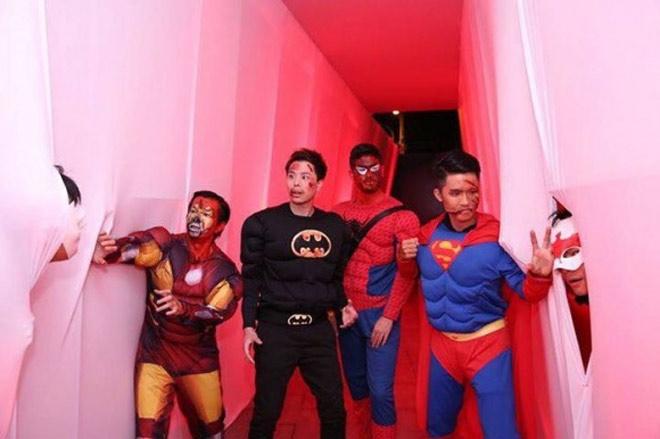 Dàn sao Việt hóa trang ma quái trong đêm Halloween - 9