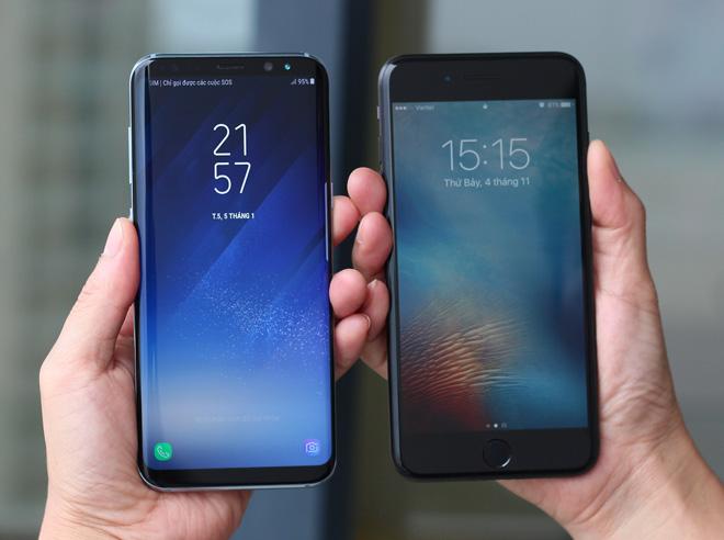 Kỳ phùng địch thủ: Chọn Galaxy S8+ hay iPhone 7 Plus? - 1