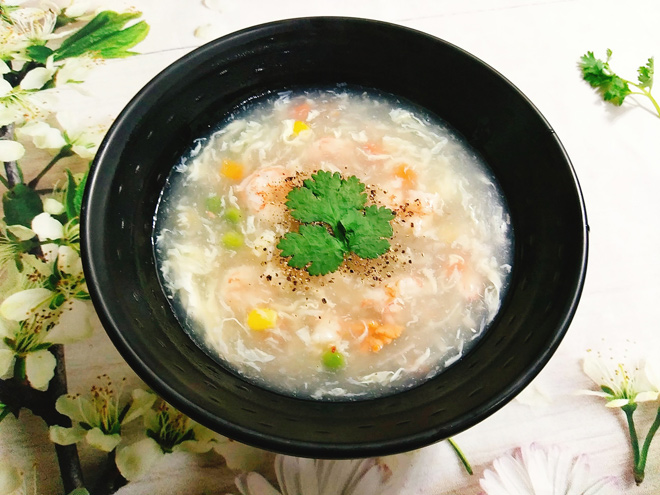 Cách nấu súp tôm ngọt thơm, bổ dưỡng ăn hoài không chán - 9