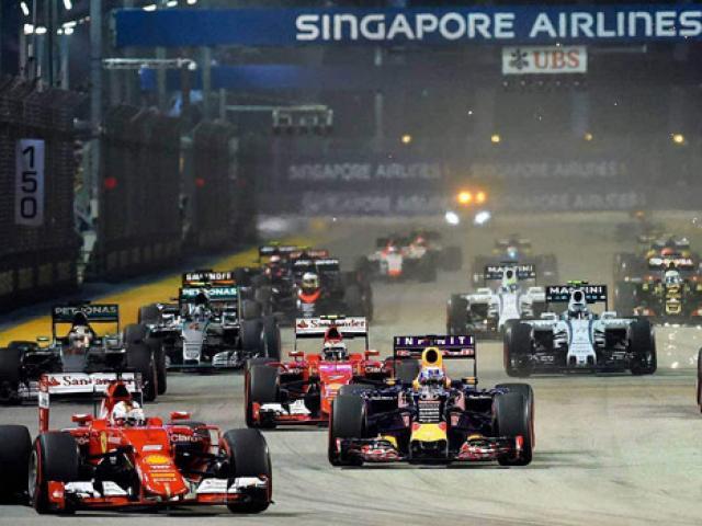 Vé xem đua xe F1 tại các nước có giá bao nhiêu?
