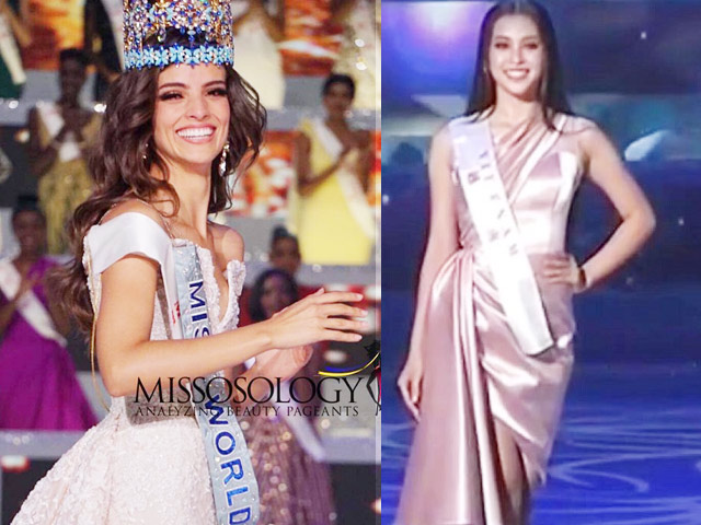 Tiểu Vy lọt Top 30 Miss World, người đẹp Mexico đăng quang