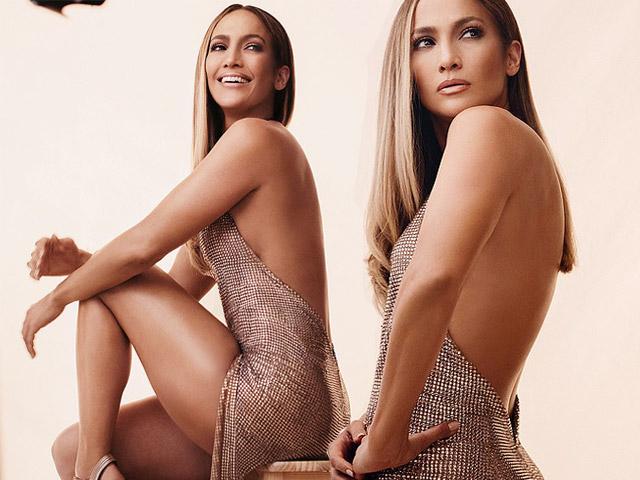 Jennifer Lopez khoe dáng cùng đầm sequin
