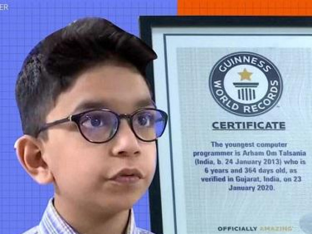 Cậu bé 6 tuổi phá kỷ lục Guiness, trở thành lập trình viên trẻ nhất thế giới