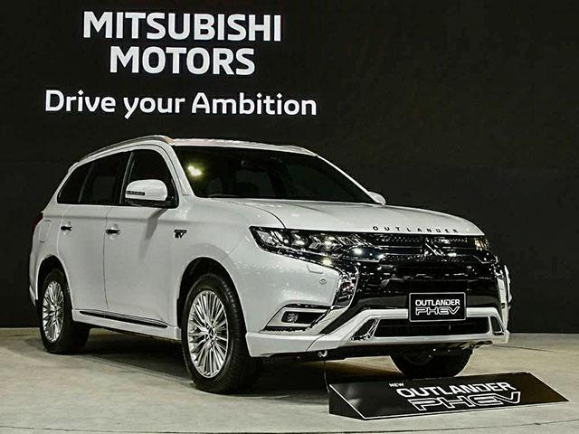Mitsubishi Outlander có thêm bản siêu tiết kiệm nhiên liệu tại Thái