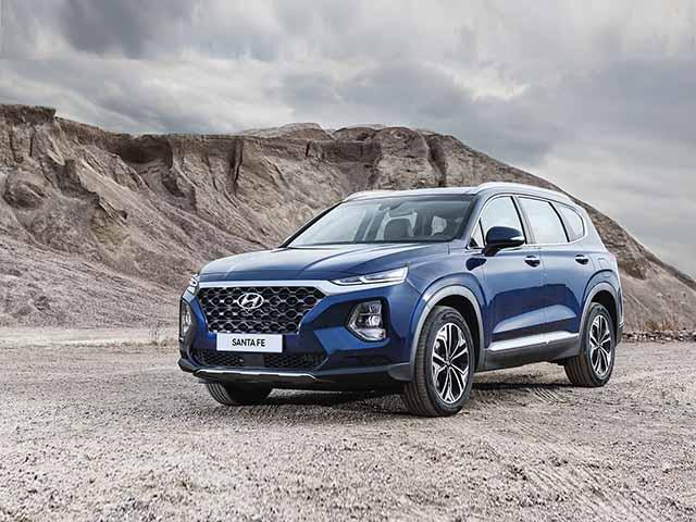 Giá xe Hyundai Santa Fe lăn bánh tháng 12/2020, giảm 50% phí trước bạ