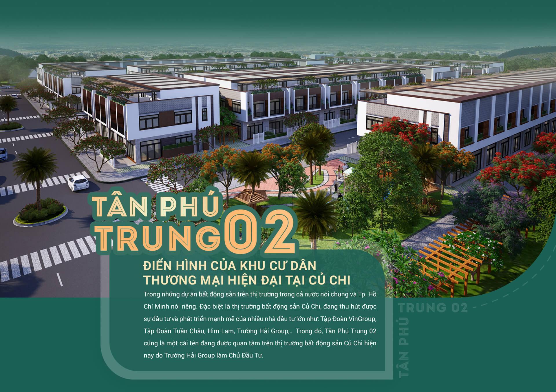 tan phu trung 02 - dien hinh cua khu cu dan thuong mai hien dai tai cu chi - 1